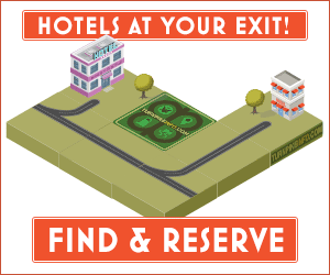 Find and reserve a hotel on turnpikeinfo.com