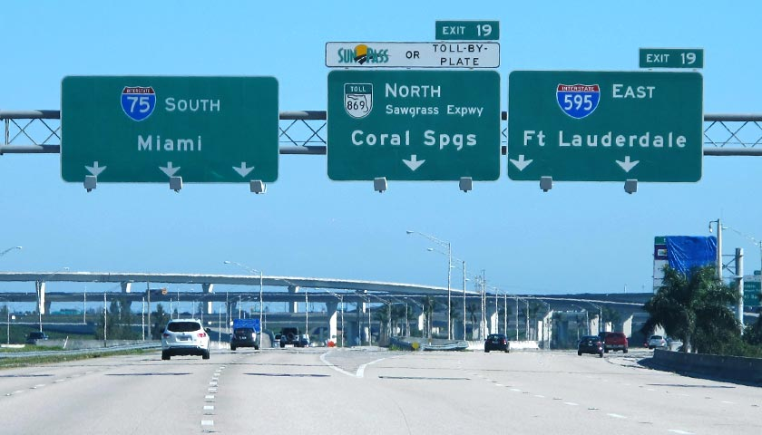 Photo of Sawgrass Expressway / I–595 - To Fort Lauderdale
