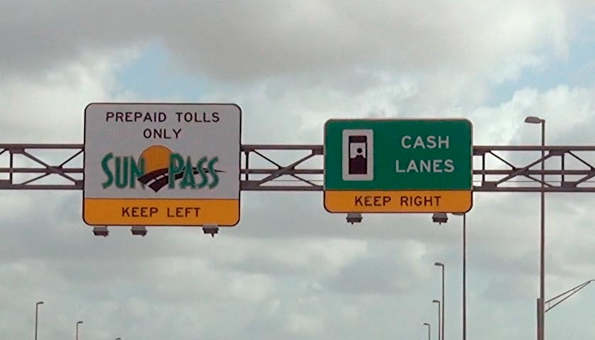 Florida toll classes, payments and fines