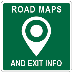 Mass Pike Exits Map Massachusetts Toll Road Maps, Exits and Plazas.