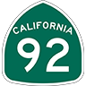 san mateo hayward bridge road marker