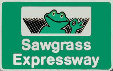 Sawgrass Expy Sign
