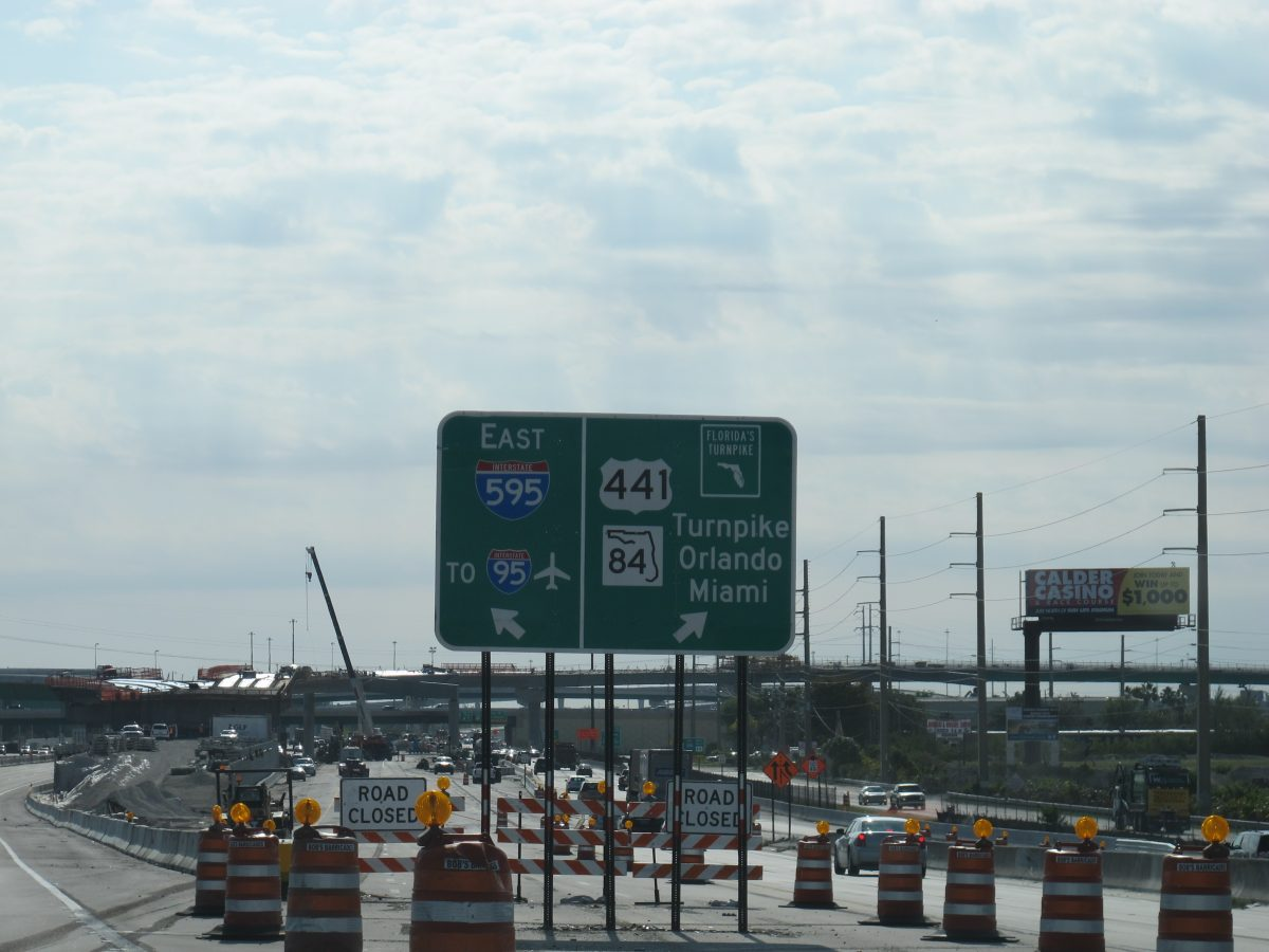 Major Turnpike Construction Projects Greet Florida's Seasonal Visitors