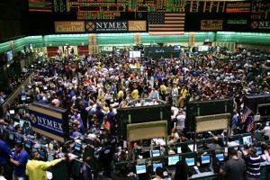 NYMEX trading floor
