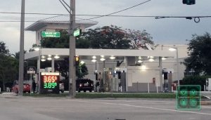 Gas prices in Fort Lauderdale on July 15