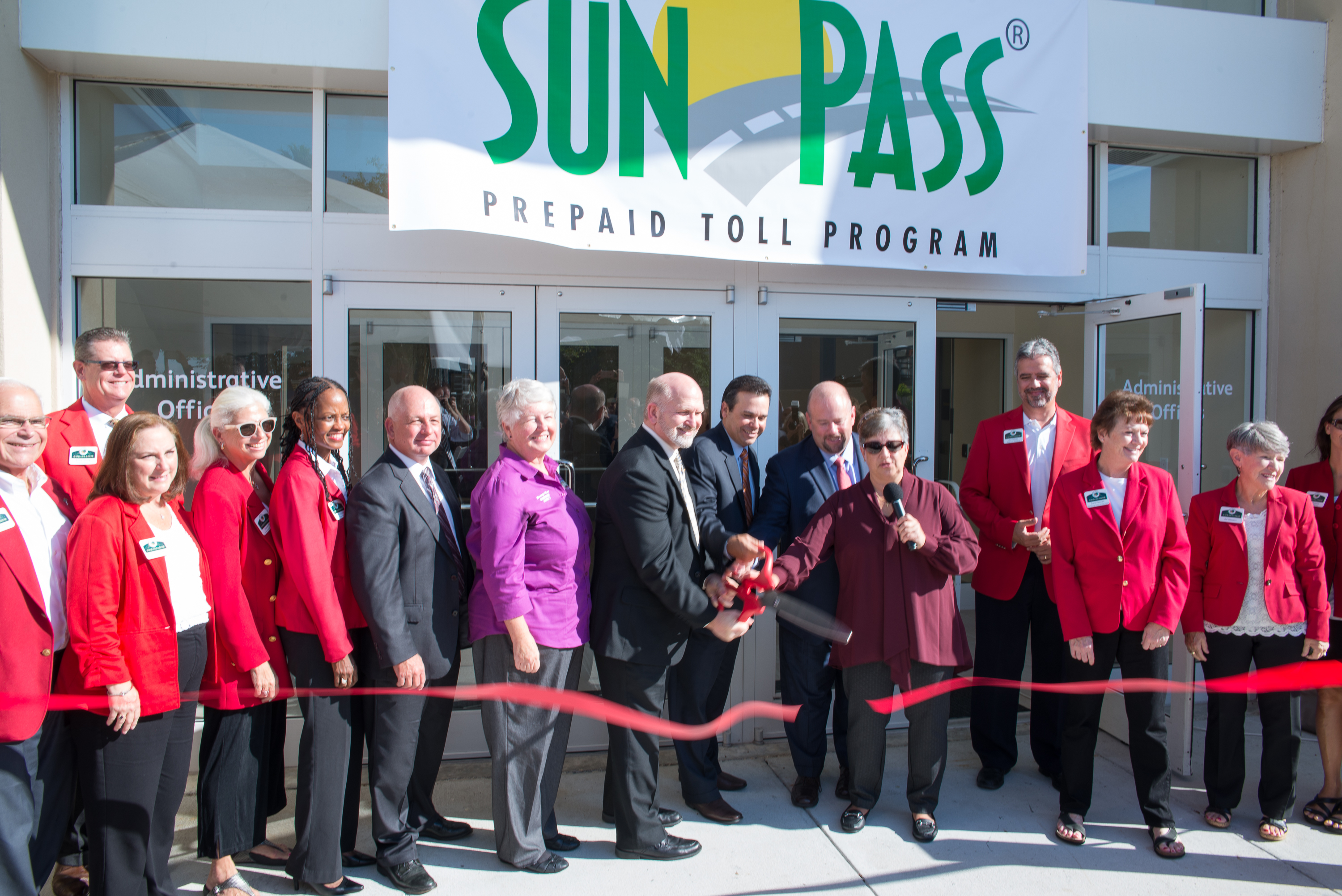 SunPass Service Center Ribbon Cutting