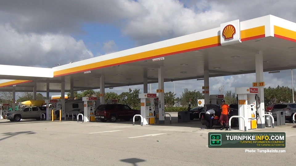 Pompano Service Plaza gas station