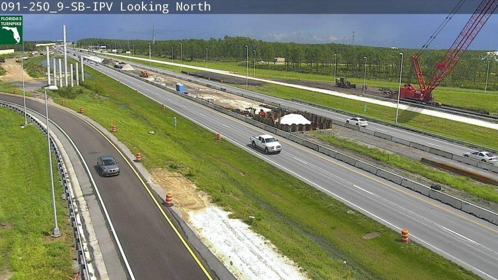 A Florida DOT CCTV view of SR 91 at SR 417