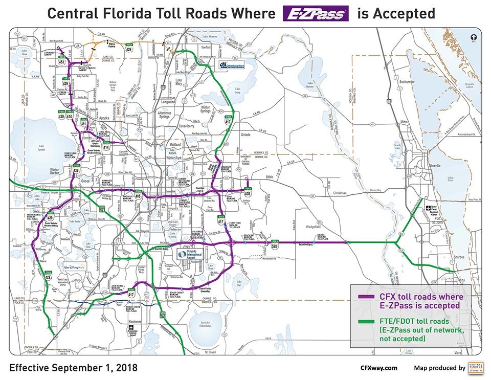 CFX Toll Roads – Toll Road News & Info